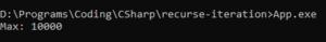 Преобразование нехвостовой рекурсии в итерацию